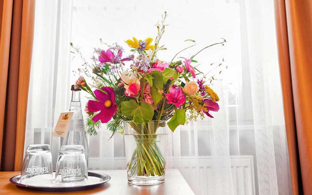 Blumen auf Wunsch im Hotel Raab